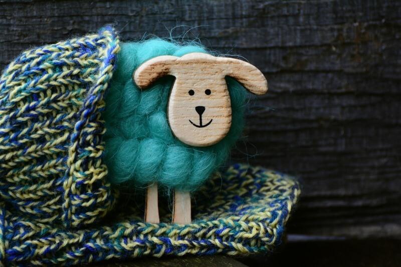 owieczka wełniana