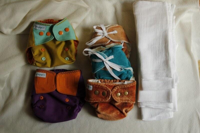 noworodkowy zestaw pieluch