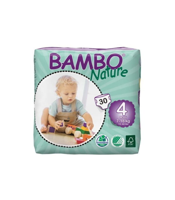 Bambo nature - ekologiczne pieluchy jednorazowe 4