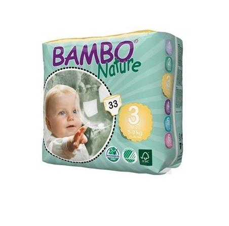 Bambo nature - ekologiczne pieluchy jednorazowe 3