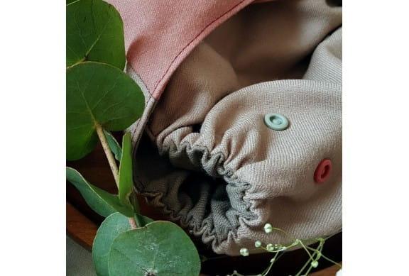 Pieluszka otulacz wełniany Healing Calmness, NB, Rzep, Puppi