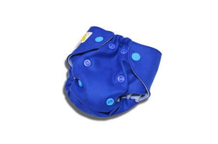 Pielucha otulacz wełniany NB - ciemny niebieski, Kokosi