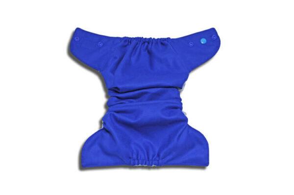 Pielucha otulacz wełniany (100%) OS - ciemny niebieski na jasnym, Kokosi