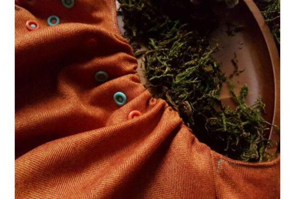 Pielucha otulacz wełniany, NB, Autumn Palette, Puppi