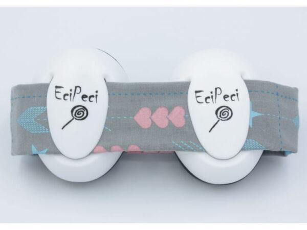 Słuchawki wygłuszające dla niemowląt EciPeci - Strzałki