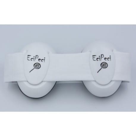 Słuchawki wygłuszające dla niemowląt EciPeci - Biały