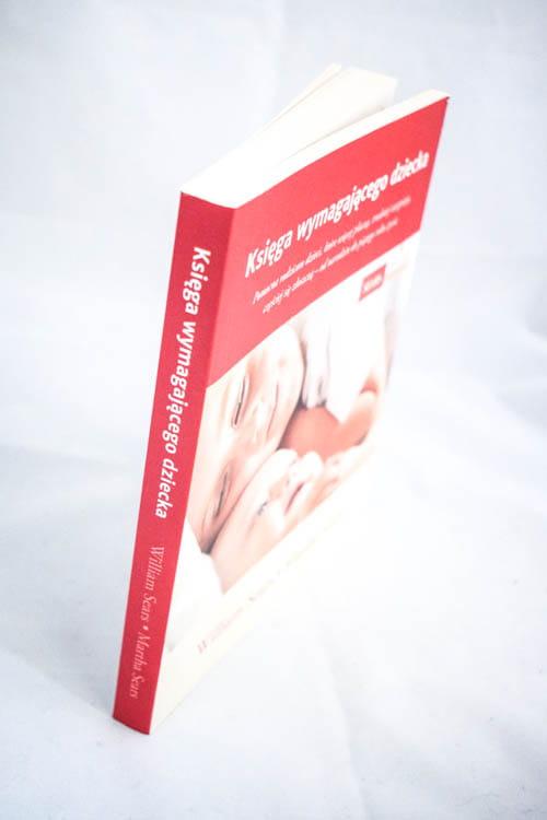 księga wymagającego dziecka grzbiet