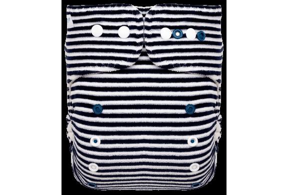 Pieluszka formowana OS Navy Stripes, Napy, Puppi