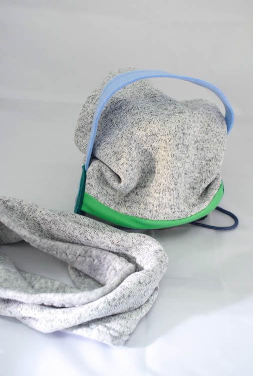 zestaw czapka plus komin