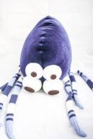 pająk pluszak hand made