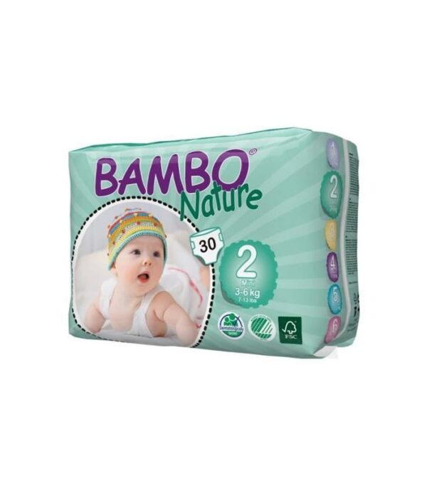 Bambo nature - ekologiczne pieluchy jednorazowe 2