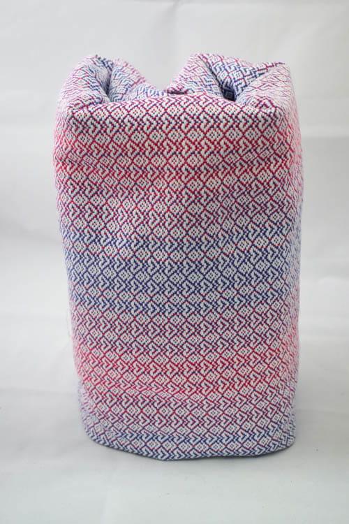 Żakardowa chusta do noszenia dzieci, 100% bawełna - Little love - Mgiełka - rozmiar M, Lenny Lamb