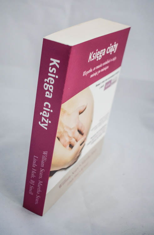 księga ciąży grzbiet