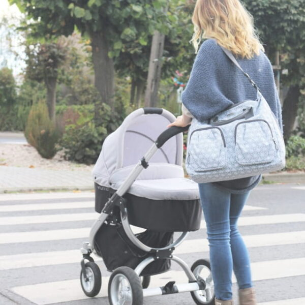 Torba dla mamy Collect - grey scandi, Joissy