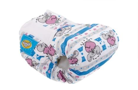 Pieluszka kieszonka One Size, bawełna organiczna, Moje serduszko, Mommy Mouse