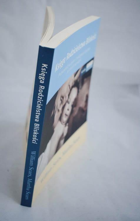 księga rodzicielstwa bliskości grzbiet