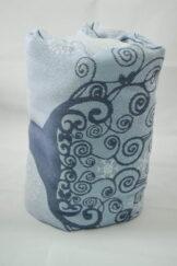 Żakardowa chusta do noszenia dzieci, bawełna - Zimowa księżniczka - rozmiar S, Lenny Lamb