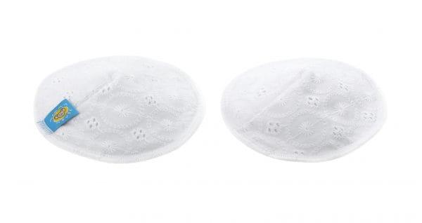 Wielorazowe wkładki laktacyjne PRINCESS z koronką, coolmax (2 szt.), Mommy Mouse