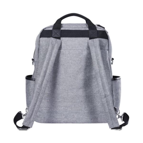 Plecak i torba DUAL grey melange, Joissy