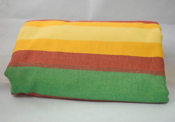 Chusta do noszenia dziecka, tkana splotem skośno-krzyżowym (100% bawełna) - LATO - rozmiar M, Lenny Lamb