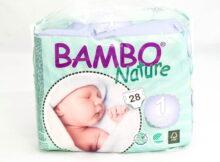 Bambo nature - ekologiczne pieluchy jednorazowe 1