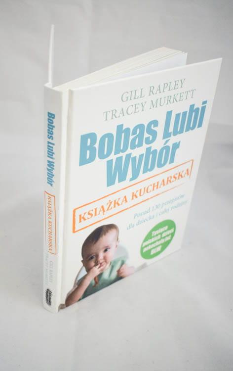 bobas lubi wybór książka kucharska grzbiet