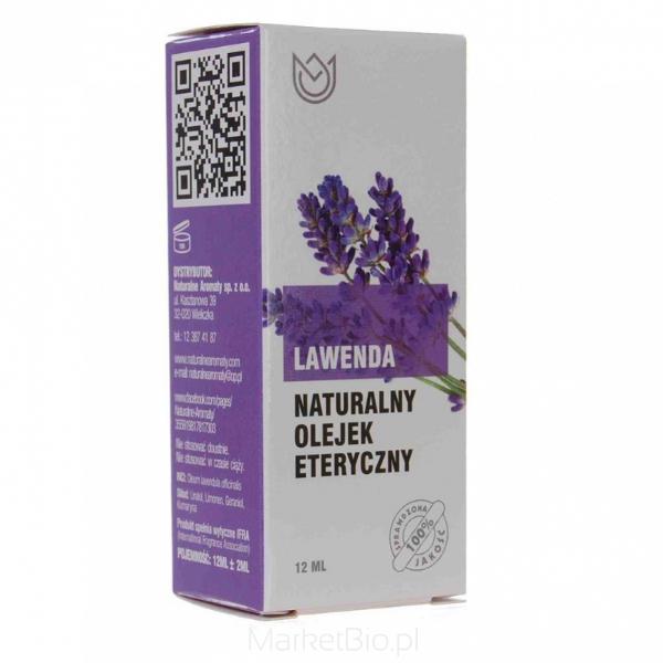 Olejek lawendowy 12 ml, Naturalne aromaty