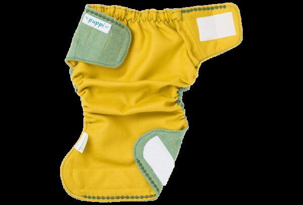Otulacz wełniany SIO Green Herringbone V2, One Size, Napy, Puppi