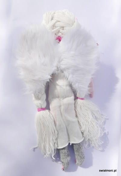 Anioł Hiacynta maskotka, hand-made, Monika Gwizdoń