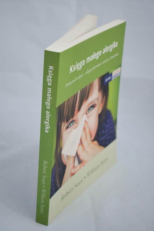 księga małego alergika grzbiet
