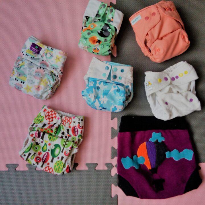 Jak wyglądają różne rodzaje pieluszek wielorazowych i jak je używać