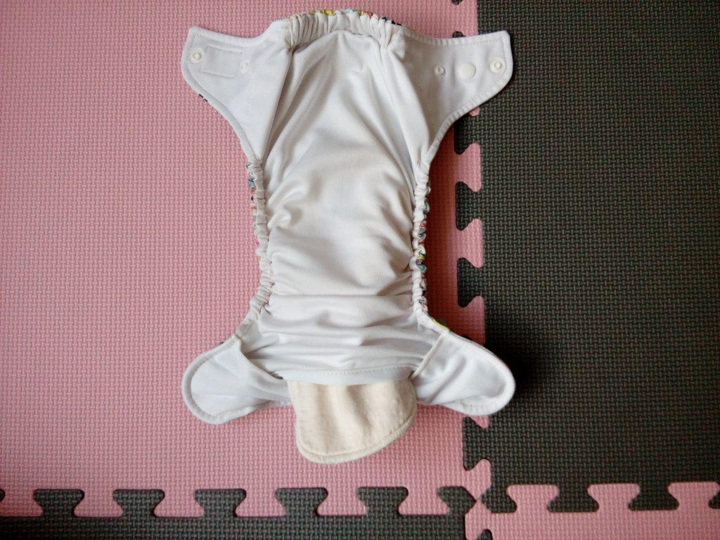 Jak włożyć wkład do pieluszki kieszonki