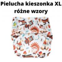 Pielucha kieszonka XL coolmax różne wzory