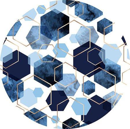 Kokosi Heksagony - wzór