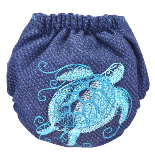 Doodush otulacz Żółwik na granacie tył