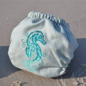 Doodush otulacz wełniany Konik morski