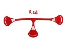 Klamerka Snappi Red
