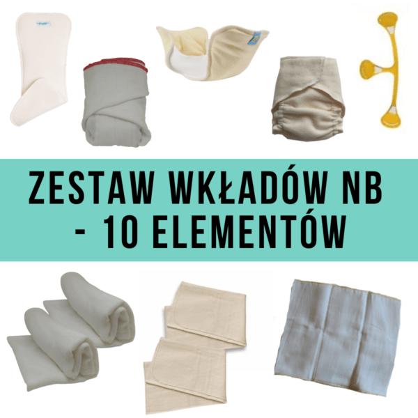 ZESTAW WKŁADÓW NB - 10 ELEMENTÓW