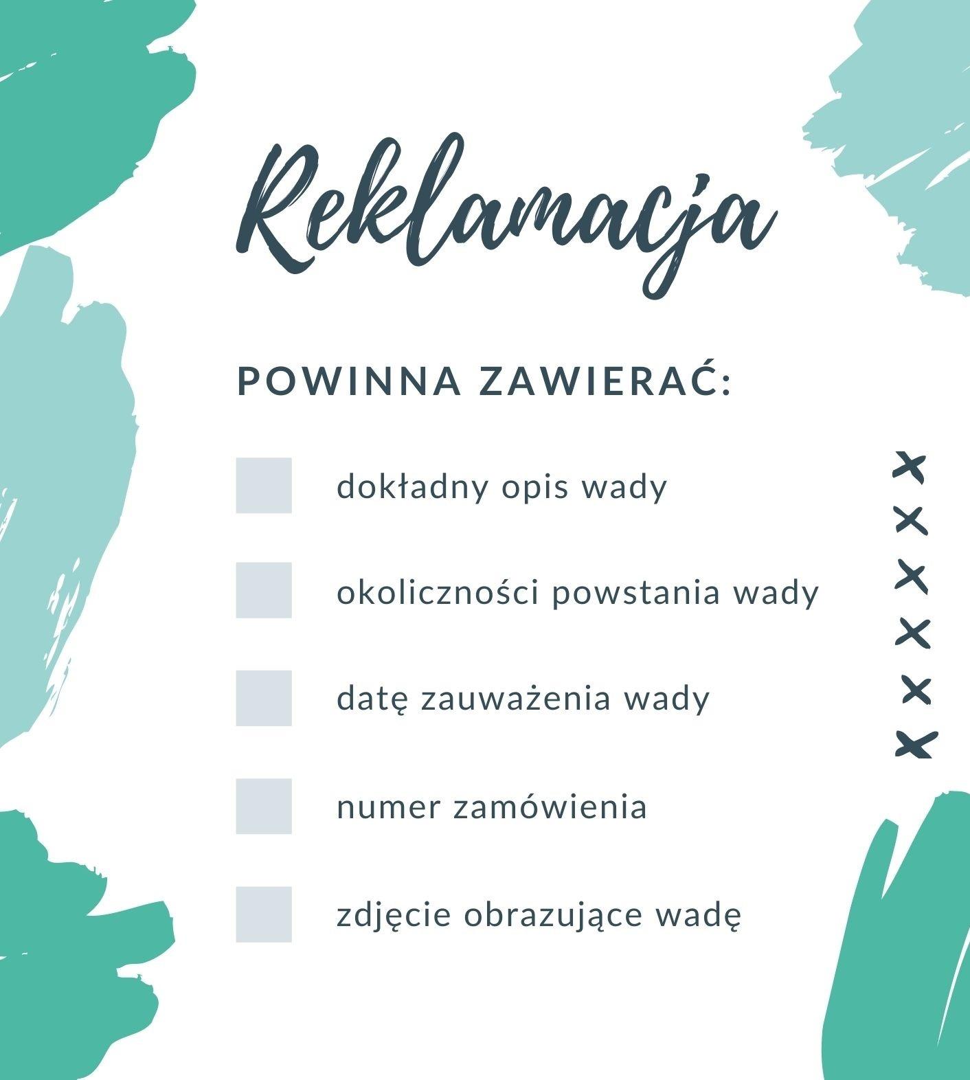 Reklamacja - checklista